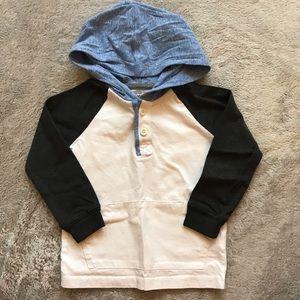 OshKosh B'gosh Toddler Boy hooded shirt 18-24M